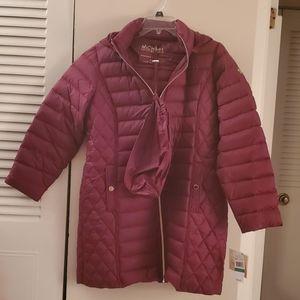 Michael kors packable coat